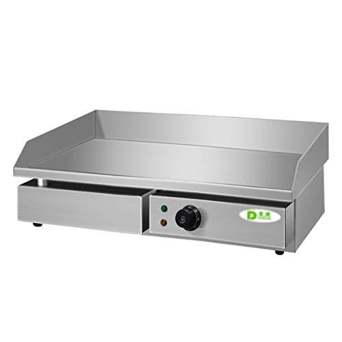 LPGY Elektrische Arbeitsplatte Grill - 220V Kommerzielle Restaurant Grill Temperaturregelung Edelstahl