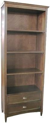 Wayborn Home Furnishing Traditional Bookcase In Brown 3 Medium Wood