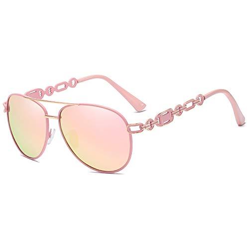 Gafas De Sol De Moda Unisex Gafas De Sol Polarizadas para Mujer Vintage Metal Hollow Lady Driving Gafas De Sol Uv400 Shades Eyewear 05