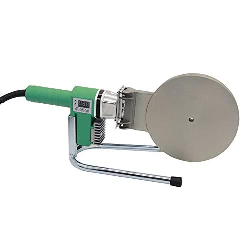 QWERTOUR Placa de calefacción de Soldadura de tubería de 160 mm Profesional Pistola de Soldadura de plástico Antorcha de Aire Caliente Soldador de Pistola de Calor