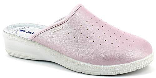 inblu Pantofole Ciabatte SANITARIE Donna MOD. 50-33N Rosa (38)