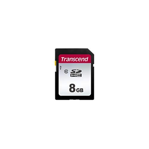 Transcend SDC300S - Tarjeta de Memoria SD de 8 GB, Clase 10, SDHC