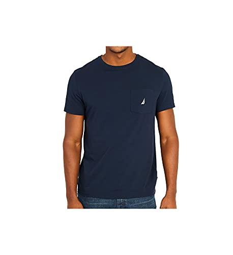 Nautica V41050 Camiseta, Azul (Navy), Medium (Tamaño del Fabricante:M) para Hombre