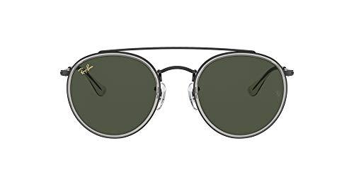 Ray-Ban 0RB3647N Gafas, Black, 51 Unisex
