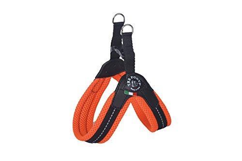 Tre Ponti Easy Fit Fix Neon Dog Harness Size 2 Orange