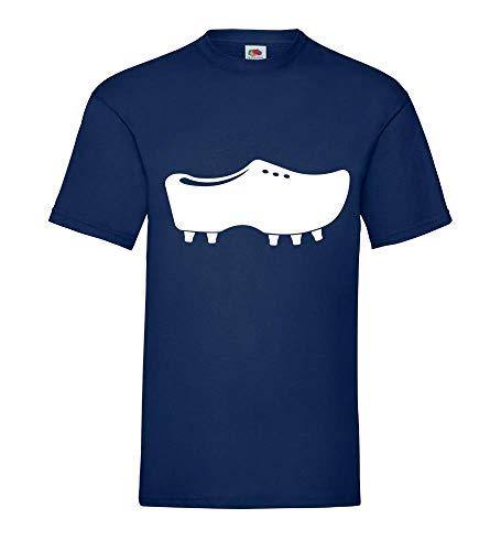 Lage voetbalschoen mannen T-shirt - shirt84.de