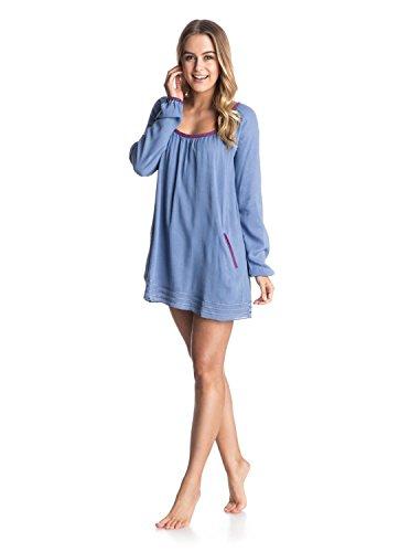 Roxy Damen Strandkleid Sweet TRPS DRS J CVUP, Blau-Blue (Chambray), XS, ARJX603022-PMK0