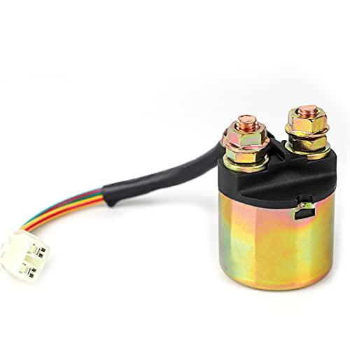 Amhousejoy Starter Solenoid Relay Ignition Kill Switch Fit for Honda TRX90 TRX350 TRX400 TRX450 TRX450ES TRX500 TRX650 TRX680 Foreman Rancher FourTrax