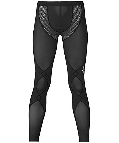 [シーダブリューエックス] スポーツタイツ エキスパートモデル (クールタイプ) ロング丈 吸汗速乾 ストレッチ HXO769 メンズ BL 日本 L (日本サイズL相当)