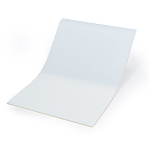 CISinks 100 Sheets 13' x 19' 100micron Universal Waterproof Quick Drying Inkjet Transparency Film for Printing Silk Screen Positives