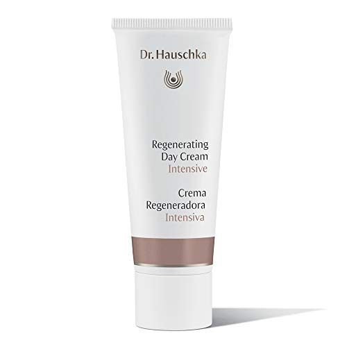 Dr. Hauschka Regenerating Day Cream Intensive, rich facial skin care, helps fortify the skin