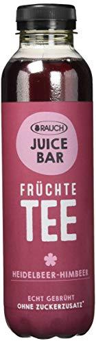 RAUCH Juice Bar Tee Früchtetee Heidelbeer-Himbeer (12 x 500 ml)