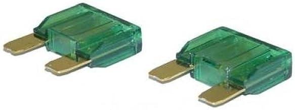 10 Flachstecksicherung Mini Sicherung 30a 32v Grün Auto