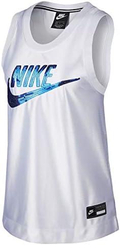 Nike Camiseta Sin Manga Sportswear Blanco para Mujer