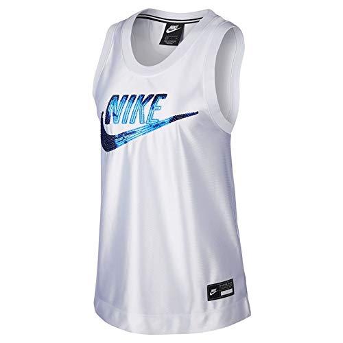 Nike Womens NSW Jersey ICON Clash Tank TOP BV3038-100 Size M