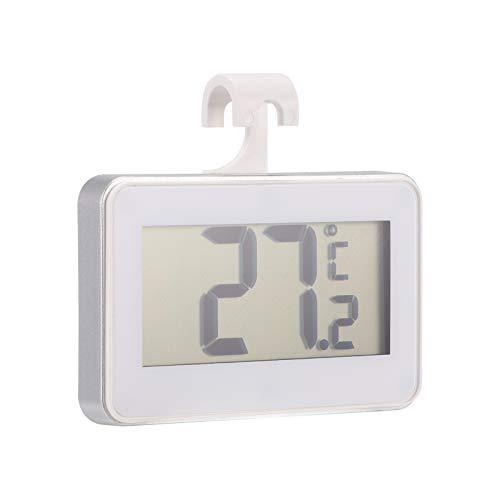 Strumento di temperatura per il congelamento, tester di temperatura, termometro digitale compatto con pietra magnetica e gancio pieghevole per la cucina