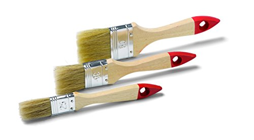 Yes Pinselset 3-teilig Flachpinsel 25, 35 und 50mm