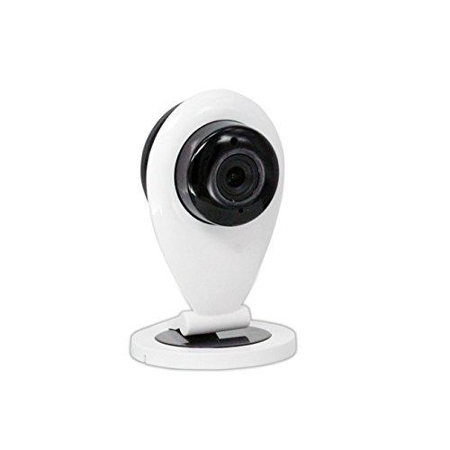 HD WLAN IP Kamera/Sicherheitskamera Set WLAN / ¨¹berwachungskamera Infrarot Nachtsicht/WiFi Kamera Bewegungssensor/Dome Kamera PTZ WiFi Y-96GH6, IR Nachtabstand 10 Meter / 3D Stereo ing