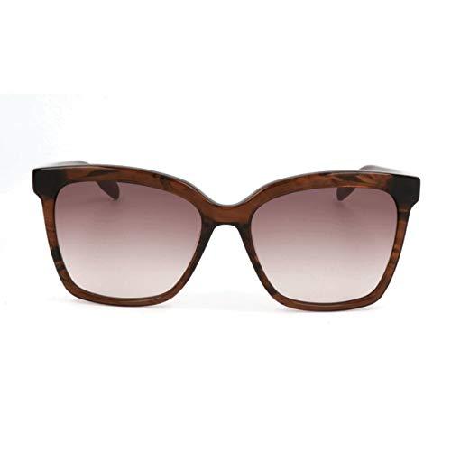 Karl Lagerfeld Sonnenbrille KL938S Rechteckig Sonnenbrille 55, Braun