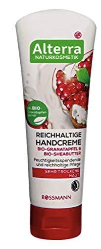 Reichhaltige Handcreme Bio-Granatapfel & Bio-Sheabutter - Für sehr trockene Haut