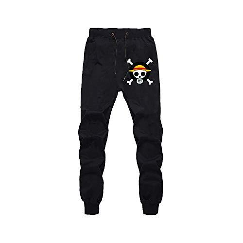 Pantalones De Jogging Hombres Mujeres Jogger Anime One Piece Edward Newgate Impresos Cosplay Gym Joggers Pantalones De Chndal De Ajuste Pantalones Deportivos Casuales XXL
