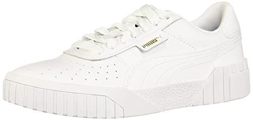 PUMA Women's CALI Sneaker White, 8.5 M US