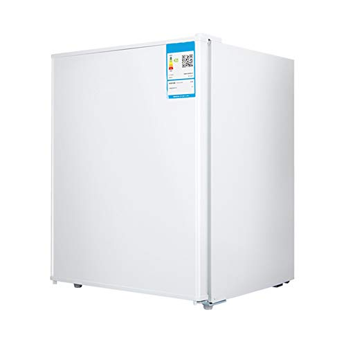 FRIDGE 55L Nevera Eléctrica Frigorífico Pequeño Termostato Regulable Nevera Retro Ahorro De Energía Frigorífico Table Top Silenciosa Material Seguro Mini Nevera con Compresor