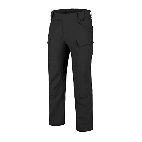 Helikon-Tex OTP Outdoor Tactical Pants, Outback Line Black Waist 34 Length 32