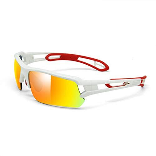 ZYQDRZ Gafas De Ciclismo Deportivas para Hombres, Gafas para Correr De Ciclismo De Montaña, Gafas A Prueba De Viento para Exteriores, Protección UV,#6