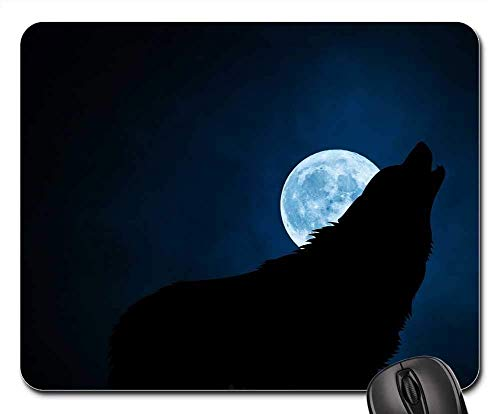 Gaming Mouse Pads, Mausmatte, Wolf Wolves Hund Lupine Canine Canis Lupus Lobo