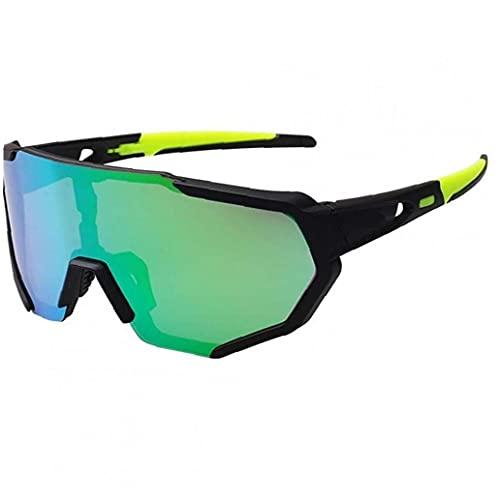 Gafas De Deportivas Polarizadas con 5 Lentes Intercambiables para Mujer para Mujer Gafas De Ciclismo De Béisbol Que Funciona De Pesca Gafas De De Conducción De
