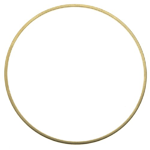 Beadaholique Solid Brass Bangle, Round Domed Bracelet 1.5mm (1/16 Inch)...