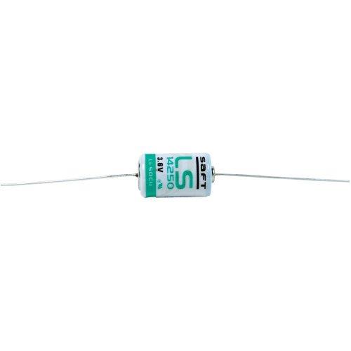 Saft LS 14250 CNA Spezial-Batterie 1/2 AA Axial-Lötpin Lithium 3.6V 1200 mAh 1St.