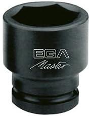 """Egamaster - Llave vaso impacto 3/4""""-19mm"""