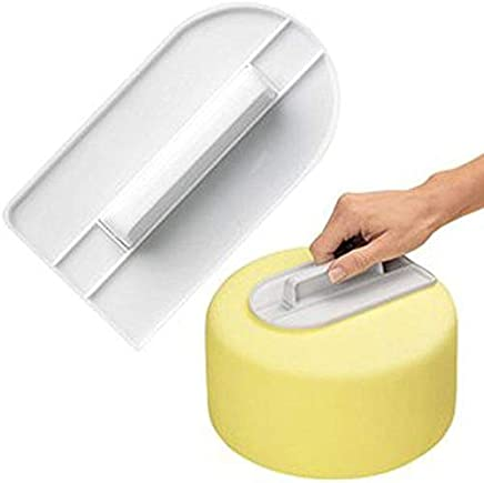 Tool Lens - 1 Pc Plastic Cake Cream Smooth Bakeware Cooking Screeding Unit Wipe Surface Cakes