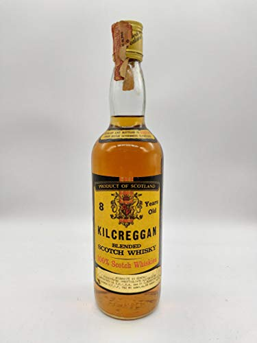 Kilcreggan Whisky 1970s (contains Littlemill Whisky)