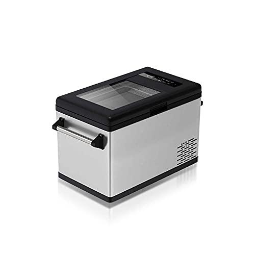 Nevera Y Congelador De Compresor Portátil Pantalla Táctil LED Monitoreo En Tiempo Real Control De Temperatura -20~10 ℃ Doble Uso para Automóvil Y Hogar
