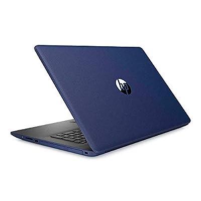"HP 17.3"" HD+ (1600 x 900) SVA BrightView WLED-Backlit Touchscreen Laptop, Intel Quad-Core i7-8565U up to 4.6GHz, 8GB DDR4, 512GB NVMe SSD, DVD, Webcam, HDMI, Bluetooth, Multimedia, Windows 10 - Blue"