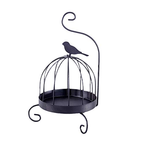 CALIDAKA Bird-cage Shape Mosquito Coil Holder,Burner Incense Holder Nordic Iron Art Iron Mosquito Coil Incense Burner Mosquito Repellent Metal Frame for Home Outdoor Patio,Living Room