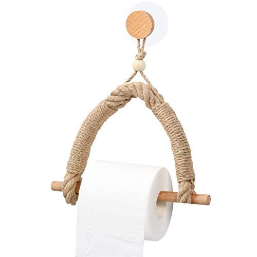 Kousa Soporte de papel higiénico retro para colgar papel higiénico, soporte para papel higiénico