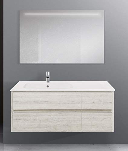 Global Trade Mobile Bagno Linea Clever 121 cm cod. clever121.u.c/00