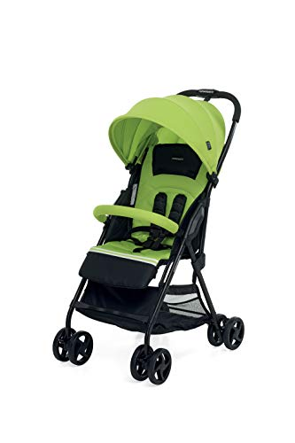Foppapedretti Piùleggera Pushchair Sport Green Foppapedretti Lightweight stroller, suitable from birth, weighs only 3.6 kg - weight without accessories It is equipped with footrest and removable extendable hood with UPF 50+ sun protection (UV protection with 98% protection). Aluminium frame, folds flat for easy storage 1