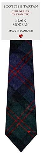 I Luv Ltd Garçon Tout Cravate en Laine Tissé et Fabriqué en Ecosse à Blair Modern Tartan
