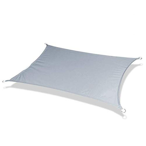 AIOXY Sonnensegel, Sonnensegel Wasserdicht, Sonnensegel Rechteckig 98% UV-Block Mit Freiem Seil Mehrere Größen Und Farben Für Außenanlagen Und Aktivitäten- A