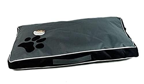 Lavable Big Dog Bed Mascota Suave Grande Cojín de Perros Kennel Paw Design Pet Cozy Sofa Puppy Mat Cat Cama (Color : Blue, Size : 1)