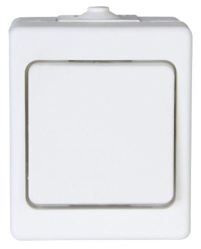 Kopp 564302002 Aufputz-Feuchtraum Taster, IP44, Standard