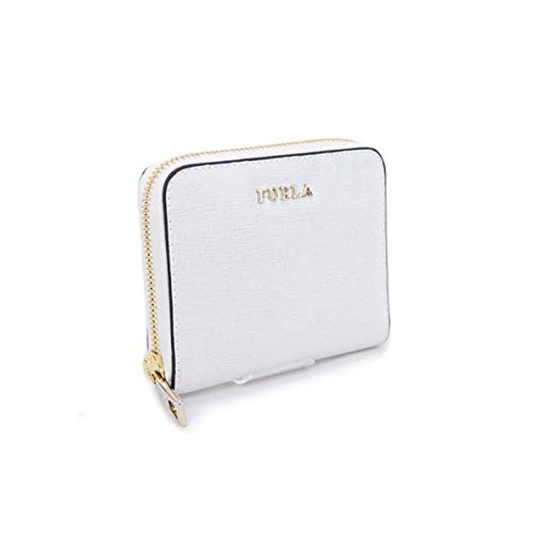 人工敏感な魅了する【アウトレット品】[フルラ] FURLA 財布 BABYLON S ZIP AROUND WALLET 折財布 オフホワイト (871040 PR84 B30 PETALO) 17AW [並行輸入品]