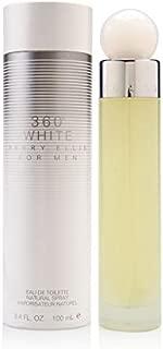 Perry Ellis 360 White By Perry Ellis for Men 3.4 Oz Eau De Toilette Spray, 3.4 Oz