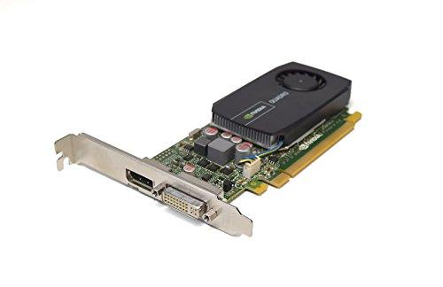 OEM NVIDIA Nuovo 612951-002 Genuino Quadro 600 Scheda Grafica Video Alta Profilo Singolo Slot Prestazioni 1GB DDR3 1x Display 1x DVI-I Dual Link Porte Interfaccia PCI-Express 671135-001