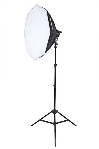"Fovitec StudioPRO Single 1000 Watt 32"" Octagon Softbox Continuous Output Lighting for Portrait Photography, Photo & Video Studio Shoots"